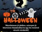 Halloween a könyvtárban