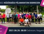 Mozaik Med Félmaraton Közösségi Futás - Debrecen