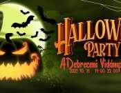 Szezonzáró Halloween Party a Vidámparkban!
