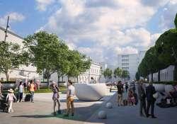Parkoló helyett sétálóövezet, indul a Dósa Nádor tér átépítése