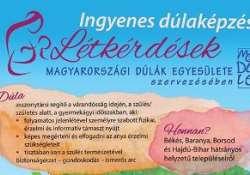 Ingyenes dúlaképzés a Magyarországi Dúlák Egyesülete szervezésében