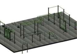 Építhetjük majd az izmokat a most épülő kondiparkban