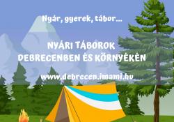 Nyár, gyerek, tábor…
