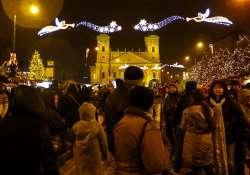 Felgyulladtak az ünnepi fények a belvárosban