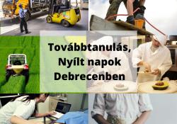 Nyílt napoktól a szakmák füzetéig: továbbtanulási lehetőségek Debrecenben