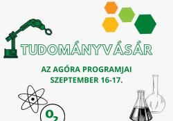 Tudományvásár szeptember 16-tól Debrecenben