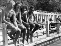 Élet a debreceni strandon 100 éve és most