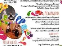 Néptánc és kézműves játszó a Csemeteligetben