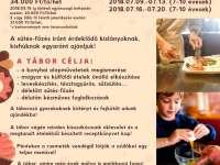 Sütő-főző kisszakács tábor Sütő-főző kisszakács tábor – avagy Szakácska-land a Csemeteligetben