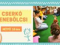 Cserkó zenebölcsi a Debreceni Pagonyban