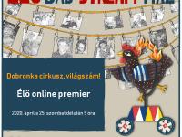 Online lakásszínház Csokonais színészekkel a Vojtinában?