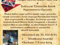 Debreceni Történelmi Korok Angol nyelvi tábor