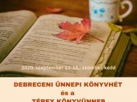 Könyvünnep és születésnapok Debreceni Ünnepi Könyvhéten