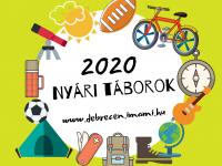Debreceni és környéki nyári táborok turnusonként