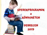 Programok a könyvhétre, kicsi és nagy gyerekeknek