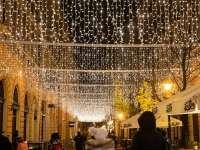 Séta az adventi fények között Debrecenben