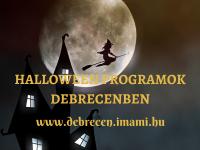 Halloween programok Debrecenben