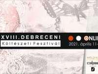 Költészeti Fesztivál Debrecenben április 11-től online