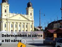 Debrecenben is sok a változás a járvány miatt