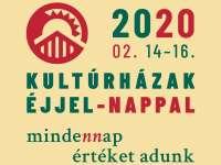 Kultúrházak Éjjel-Nappal 2020 debreceni és megyei programokkal