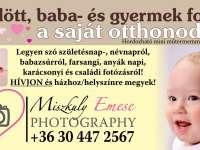 Miszkuly Emese baba- és gyermekfotó