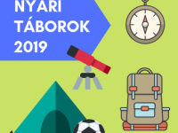 2019 debreceni és környéki nyári táborok turnusonként