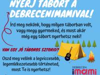 Nyerj tábort a Debrecenimamival!