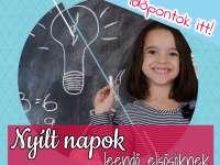 Debreceni általános iskolák nyílt napjai