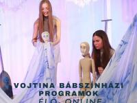 Online mese és bábok a Vojtinából