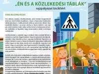 """""""Én és a közlekedési táblák"""" - közlekedésbiztonsági rajzpályázat (KÖBE)"""