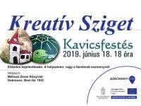 Kreatív Sziget - Kavicsfestés