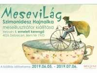 Mesevilág - Szimonidesz Hajnalka meseillusztrátor kiállítása