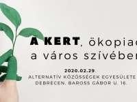 A KErt, ökopiac - az első környezettudatos vásár
