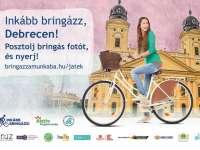 Inkább bringázz, Debrecen! Posztolj bringás fotót, és nyerj!