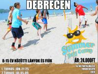 Strandröplabda nyári tábor