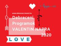 Valenti napi programok Debrecenben - nem csak szerelmes szíveknek