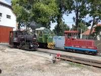 Az első utasok a Zsuzsi vonaton