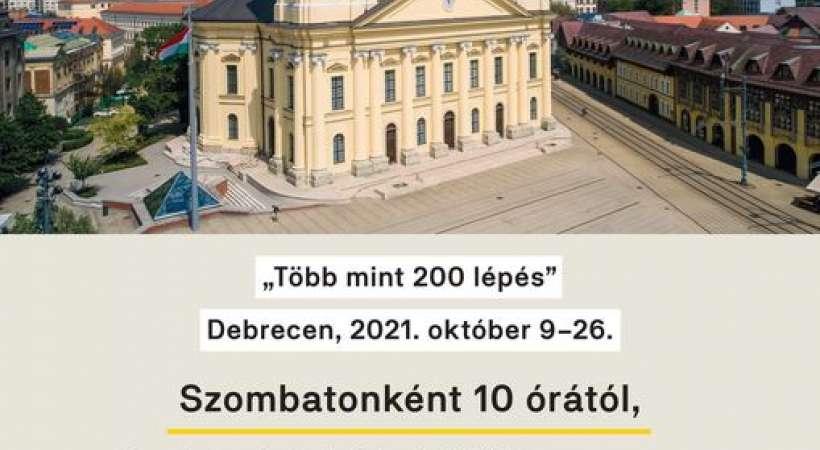 Októberi ingyenes Nagytemplomi séták Debrecenben