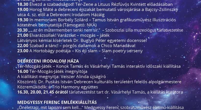 Medgyessy Ferenc Emlékkiállítás - Múzeumok Éjszakája 2021 Debrecen programajánló