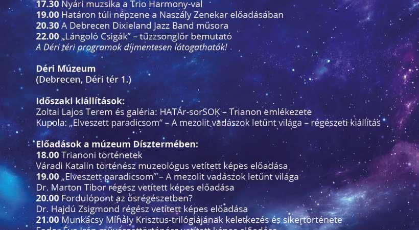 Déri Múzeum - Múzeumok Éjszakája 2021 Debrecen programajánló
